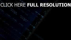blau abstrakt zahlen digital