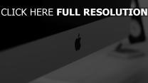 apple imac logo computer nähe