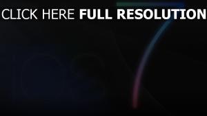 ios 7 apple dunkel logo