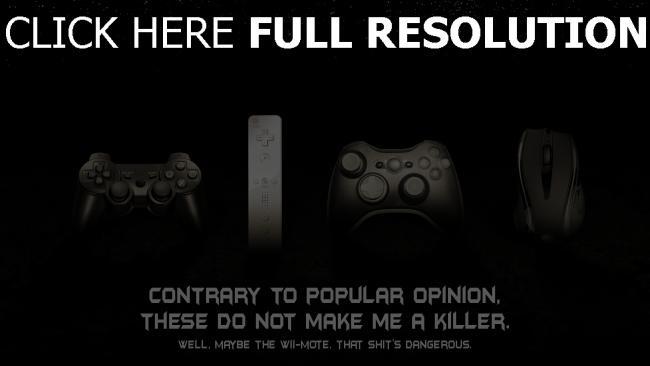 hd hintergrundbilder konsole spiele maus joystick schwarz