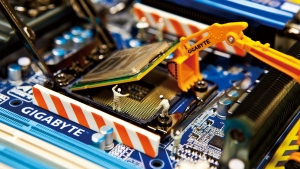 gigabyte prozessor hauptplatine chip