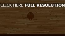 android google logo hintergrund holz