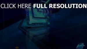 technologie strahl licht blau licht