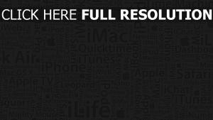 apple mac iphone ipod iwork macbook