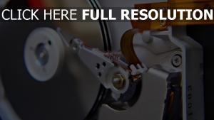 festplatte mechanismus hdd
