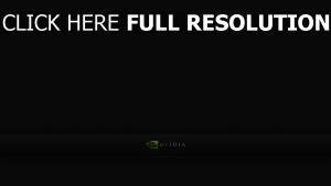 nvidia logo beschriftung hintergrund dunkel