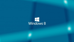 windows 8 logo hintergrund blau emblem