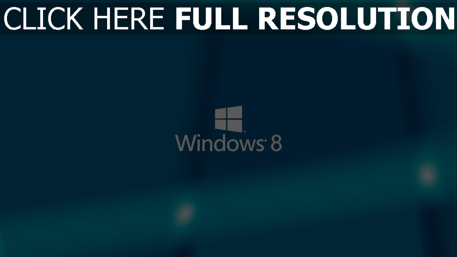 HD Hintergrundbilder windows 8 logo hintergrund blau