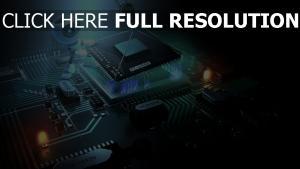 prozessor cpu chip roboter