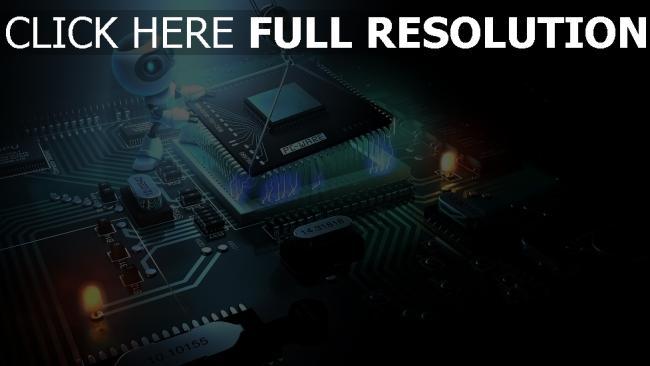 hd hintergrundbilder prozessor cpu chip roboter