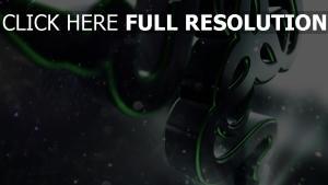 razer logo emblem nähe volumen