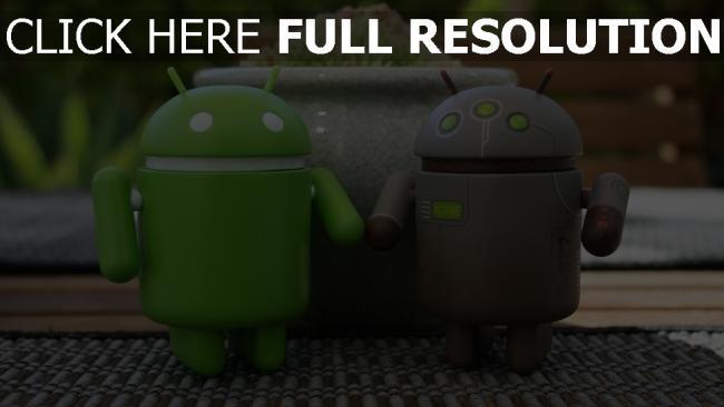 hd hintergrundbilder android roboter figur spielzeug