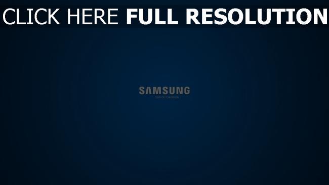 hd hintergrundbilder samsung logo hintergrund blau slogan