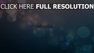 linux ubuntu blasen kreise logo