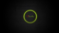 linux ubuntu logo kreis grün