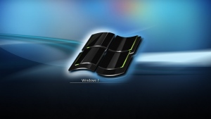 windows 7 emblem logo blau