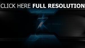 windows 7 logo beleuchtung blau