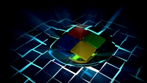 windows 7 logo emblem licht strahlen