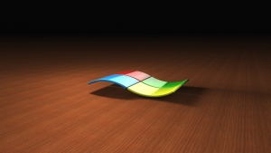 windows logo emblem 3d bunt