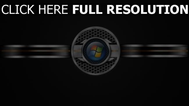hd hintergrundbilder fenster logo 3d stahl grau