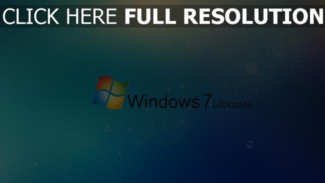 hd hintergrundbilder windows 7 logo hintergrund blau blasen
