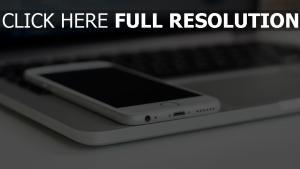laptop macbook smartphone iphone 6