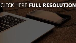 smartphone technologie laptop