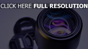 objektiv ausrüstung kamera