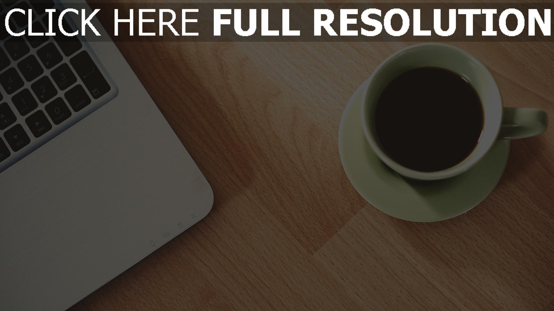 HD Hintergrundbilder tasse kaffee macbook apple, desktop hintergrund