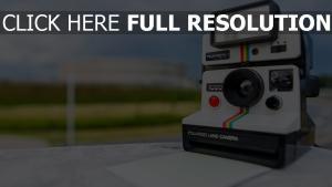 retro kamera polaroid