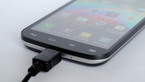 touch screen smartphone lade