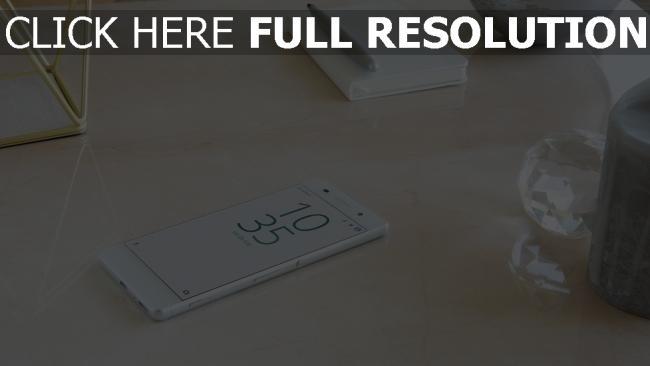 hd hintergrundbilder smartphone xperia tisch sony touch-screen