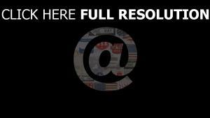 post at-zeichen symbol