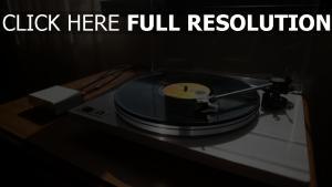 vinyl u-turn-plattenspieler player