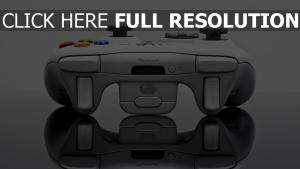 reflexion xbox joystick konsole