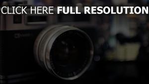 kamera objektiv yashica blur