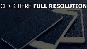 apple smartphone iphone 6 tropfen