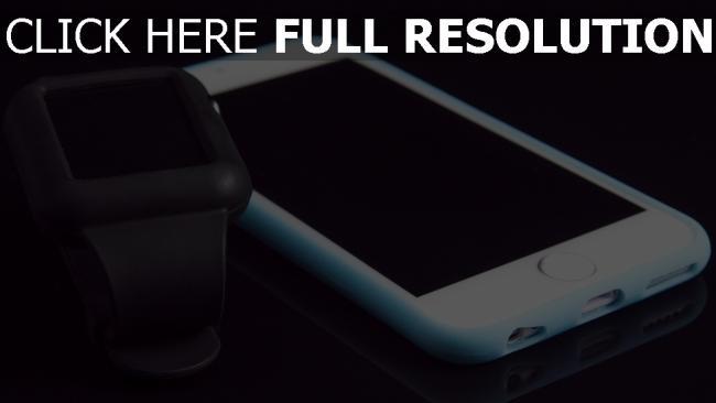 hd hintergrundbilder geräte iphone apple iwatch