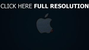 mac logo jeans marke apple