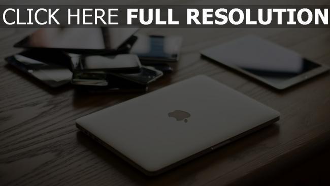 hd hintergrundbilder macbook smartphone apple ipad