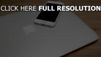 iphone macbook smartphone apple laptop