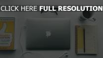 brille becher kopfhörer apple laptop notebook macbook