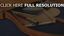 stift smartphone notebook tasche