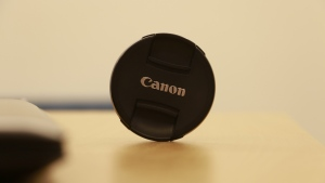 kamera canon linse kappe