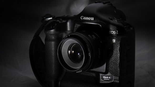 hd hintergrundbilder objektiv kamera canon schwarz