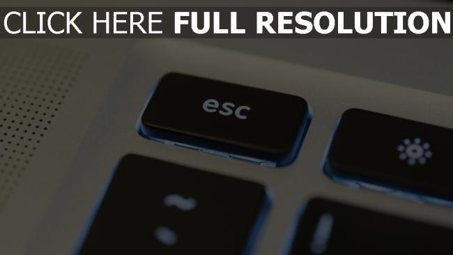 hd hintergrundbilder tastatur esc hintergrundbeleuchtung