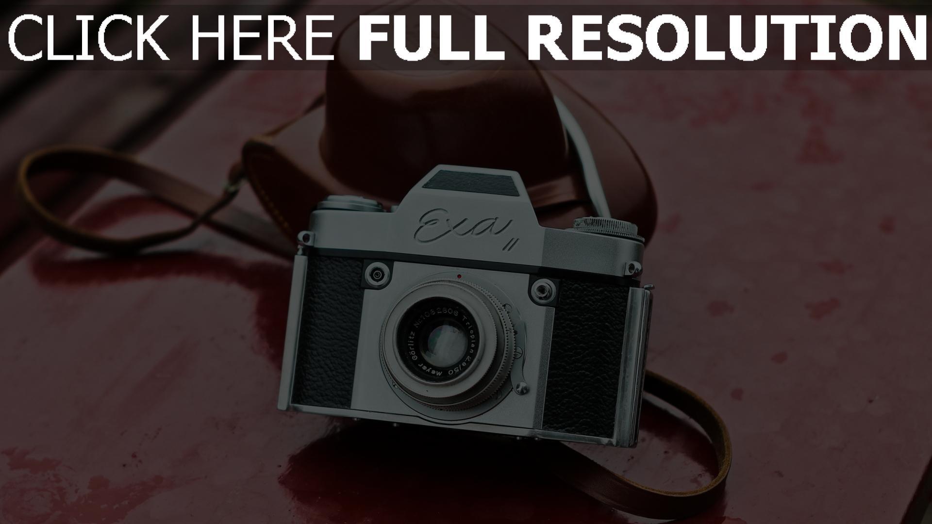 hd hintergrundbilder objektiv kamera exa ii 1920x1080