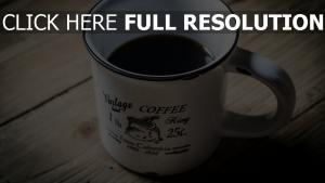 kaffee tasse retro platte tisch