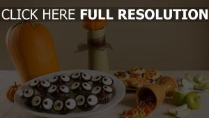 halloween süßigkeiten bonbons
