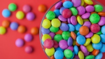 bonbons bunt süßigkeiten